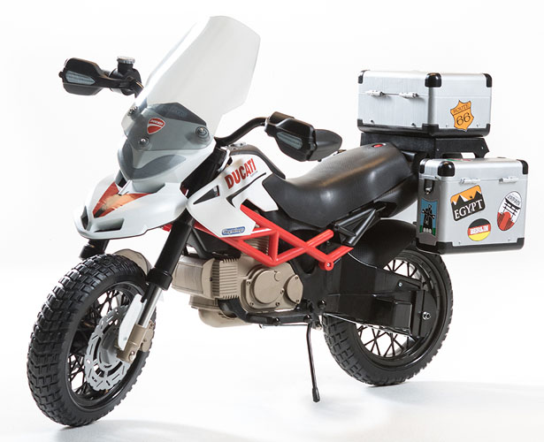 PegPerego - Ducati Hypercross 12V-os elektromos gyermekmotor 25e1be7de7